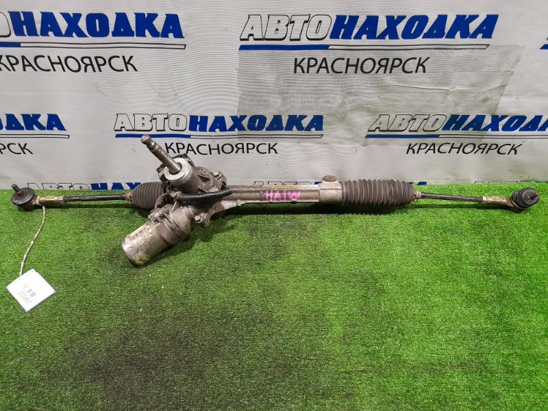 Рейка рулевая Mitsubishi I HA1W 3B20 2006 4410A337 Электрическая, в сборе с тягами и наконечниками,
