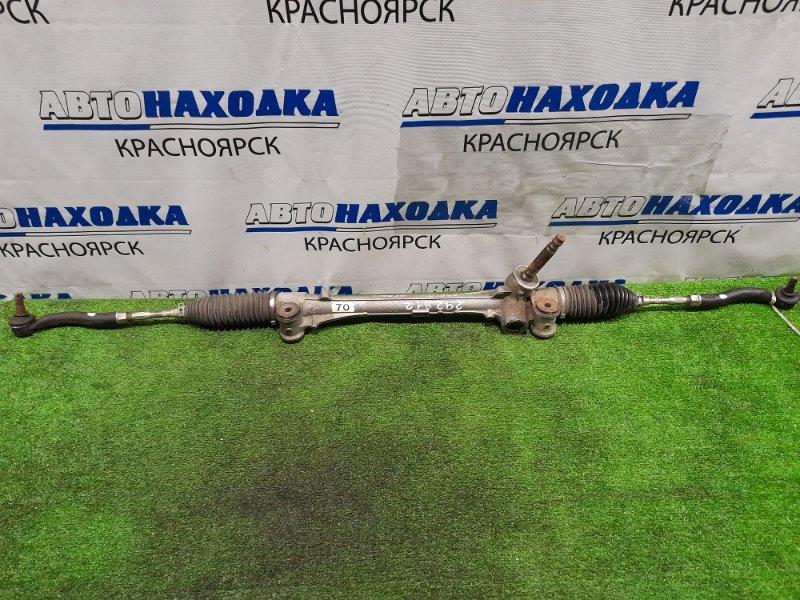 Рейка рулевая Toyota Porte NSP141 2NR-FKE сухая, в сборе с тягами и наконечниками.
