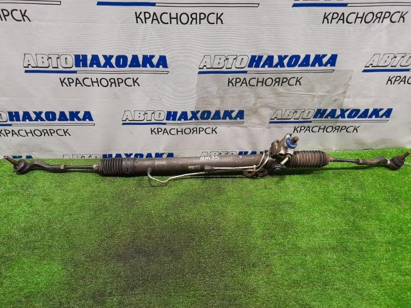 Рейка рулевая Nissan Stagea NM35 VQ25DET Гидравлическая, в сборе с тягами и наконечниками. 4WD
