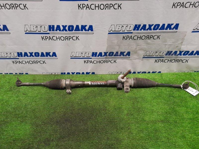 Рейка рулевая Daihatsu Tanto Exe L455S KF 2009 Сухая, в сборе с тягами и наконечниками.