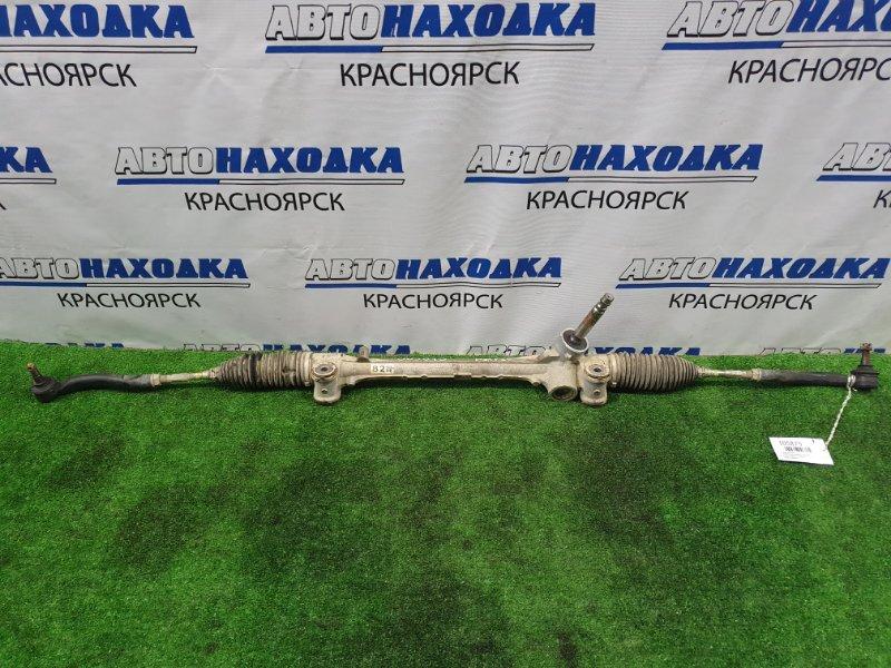 Рейка рулевая Toyota Aqua NHP10 1NZ-FXE 2011 Сухая, в сборе с тягами и наконечниками.