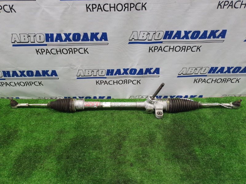 Рейка рулевая Daihatsu Move LA150S KF 2002 Сухая, в сборе с тягами и наконечниками.