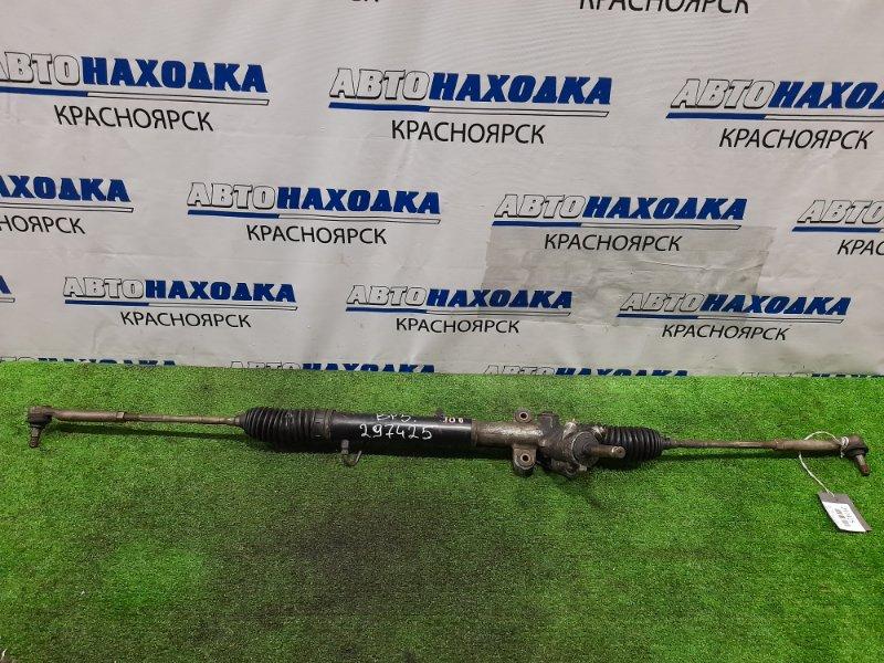 Рейка рулевая Subaru Legacy BP5 EJ20T 2004 Гидравлическая, в сборе с тягами и наконечниками.