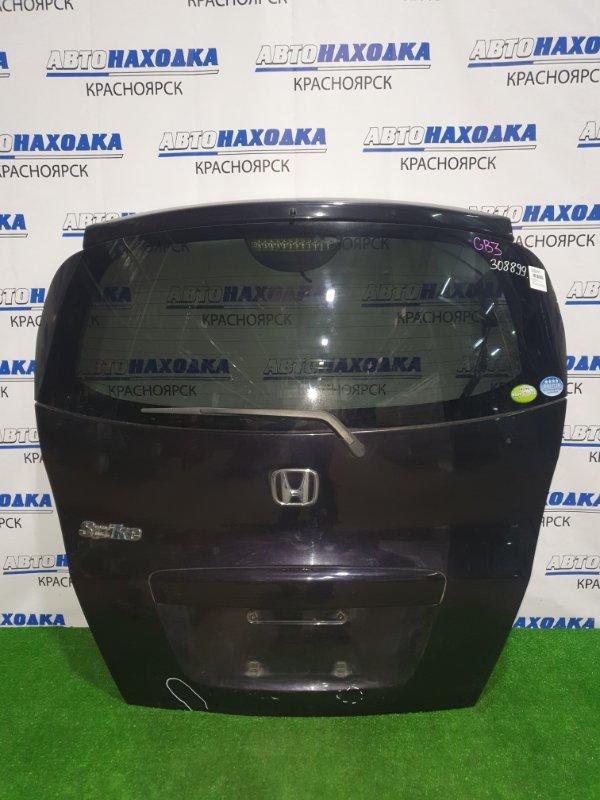 Дверь задняя Honda Freed Spike GB3 L15A 2010 задняя в сборе, с камерой з/х, есть вмятинки,
