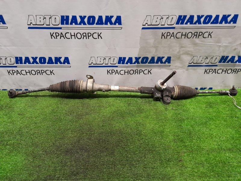 Рейка рулевая Daihatsu Mira Cocoa L675S KF 2009 Сухая, в сборе с тягами и наконечниками.
