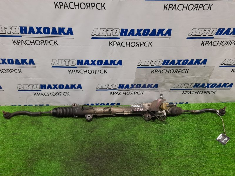 Рейка рулевая Mazda Mpv LY3P L3-VE Гидравлическая, в сборе с тягами и наконечниками.