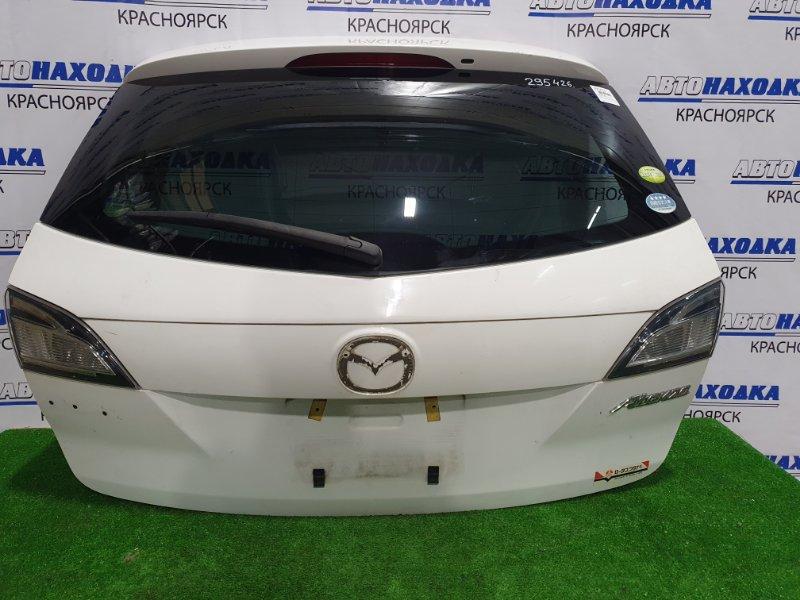 Дверь задняя Mazda Atenza GHEFW LF-VE 2008 задняя в сборе, есть сколы, царапинка (см. фото).