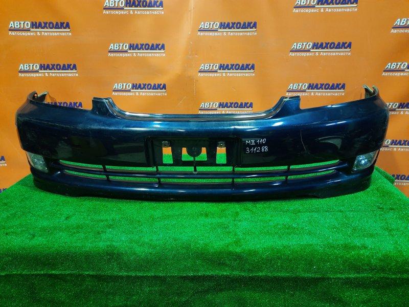 Бампер Toyota Mark Ii GX110 1G-FE передний 52119-2A100 2MOD, ТУМАНКИ 22304. ОТЛОМАНО КРЕПЛЕНИЕ .