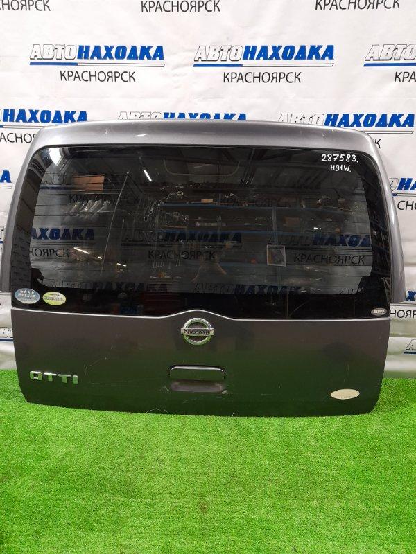 Дверь задняя Nissan Otti H91W 3G83 2005 задняя В сборе, есть потертости до металла, пара