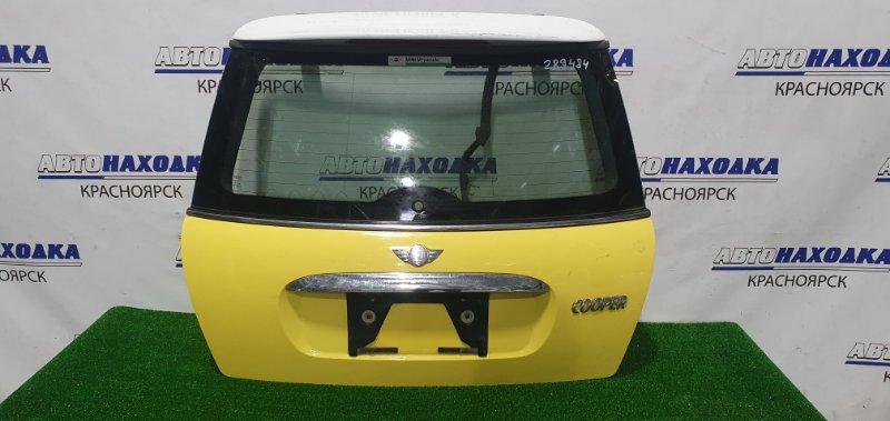 Дверь задняя Mini Cooper R50 задняя без обшивки, мотора стеклоочистителя, есть потертости.