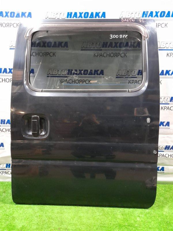 Дверь Suzuki Every DA62W K6AT 1999 задняя левая Задняя левая, в сборе, есть царапины до металла,