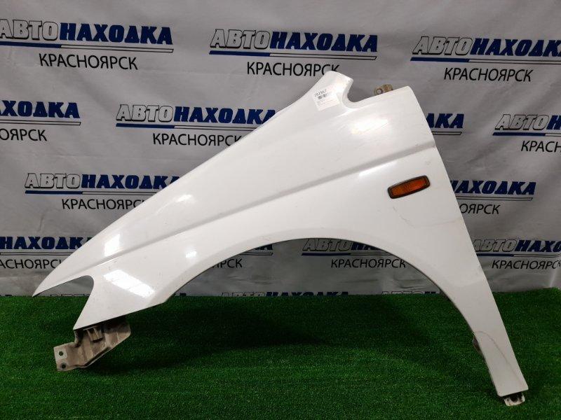 Крыло Honda Lagreat RL1 J35A 1999 переднее левое переднее левое , под полировку.