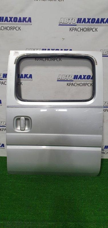 Дверь Suzuki Every DA52W F6A 1999 задняя левая Задняя левая, в сборе, есть потертости до металла.