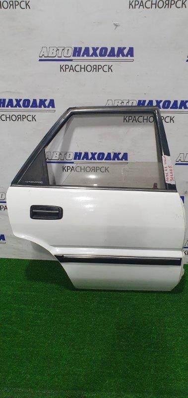 Дверь Toyota Sprinter AE91 5A-F 1987 задняя правая задняя правая, в сборе, механический