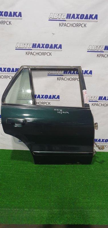 Дверь Mitsubishi Legnum EA1W 4G93 1996 задняя правая задняя правая, в сборе, есть потертости до
