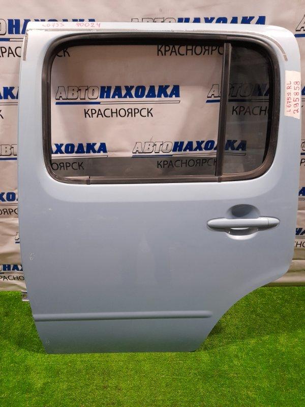 Дверь Daihatsu Mira Cocoa L675S KF 2009 задняя левая задняя левая, в сборе, есть потертости до