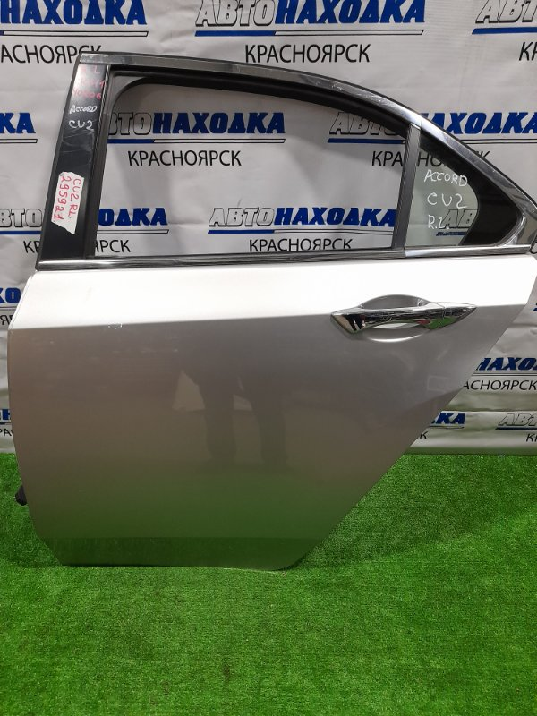 Дверь Honda Accord CU2 K24A 2008 задняя левая задняя левая, в сборе. есть потертость, седан.
