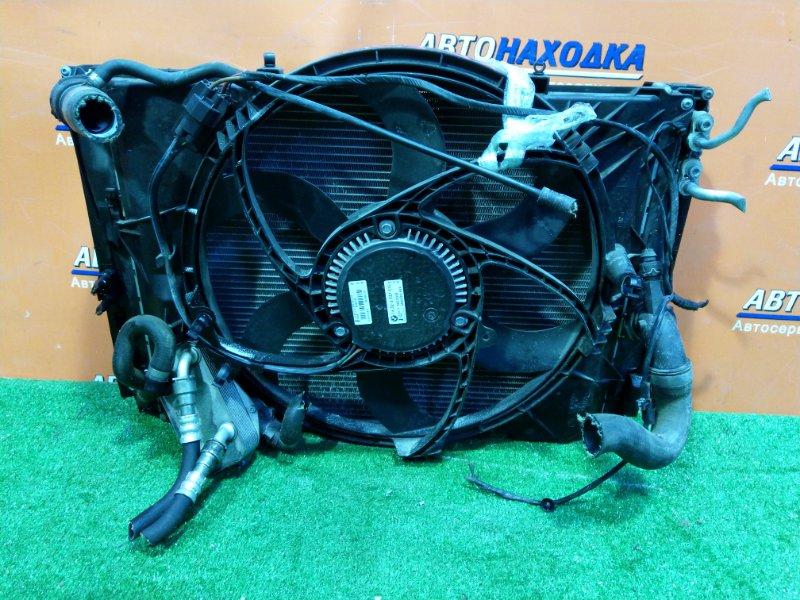 Радиатор двигателя Bmw 320I E90 N46B20B 10.05.2006 +РАДИАТОР КПП 17217529499 , +РАДИАТОР КОНДИЦИОНЕРА