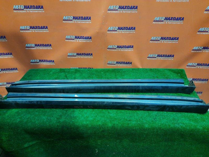 Порог Nissan Wingroad Y12 HR15DE 12.2006 КОМПЛЕКТ
