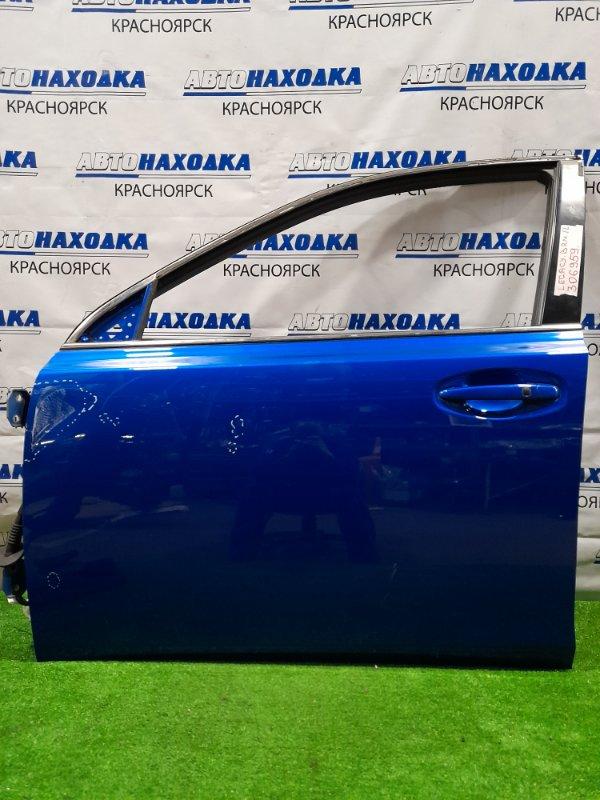 Дверь Subaru Legacy BRM FB25 2009 передняя левая Передняя левая, в сборе, есть вмятинка, потертости.