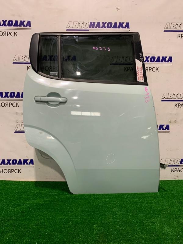 Дверь Nissan Moco MG33S 2011 задняя правая Задняя правая, в сборе, есть вмятинка, потертости.