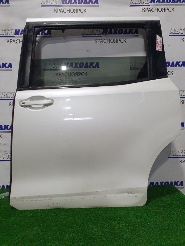 Дверь Toyota Voxy ZRR80G 3ZR-FAE 2014 задняя левая Задняя левая, в сборе, есть шторка, сдвижная, есть