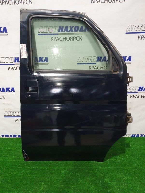 Дверь Honda Vamos HM1 E07Z 1999 передняя правая Передняя правая в сборе, есть ржавчина снизу,