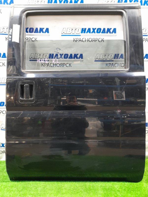 Дверь Honda Vamos HM1 E07Z 1999 задняя левая Задняя левая, механический стеклоподъемник, есть