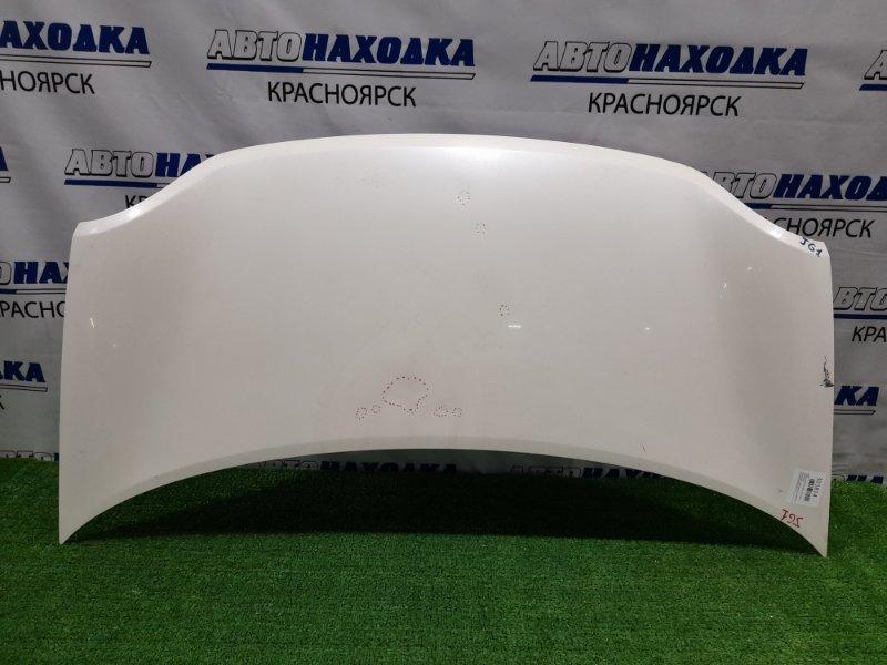 Капот Honda N-One JG1 S07A 2012 присутствуют вмятинки, есть потёртость до металла,
