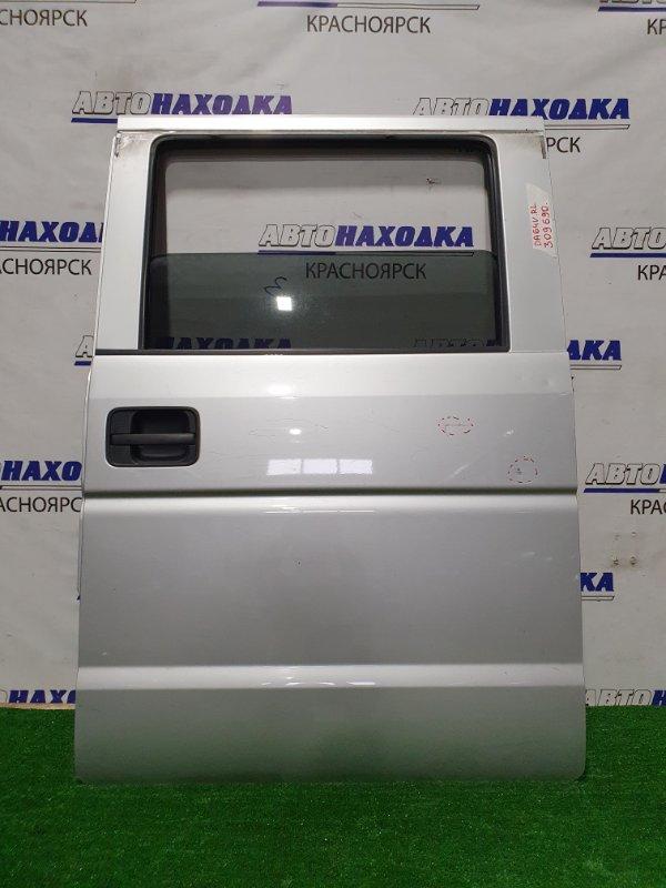 Дверь Suzuki Every DA64V K6A 2005 задняя левая Задняя левая, механический стеклоподъемник, цвет