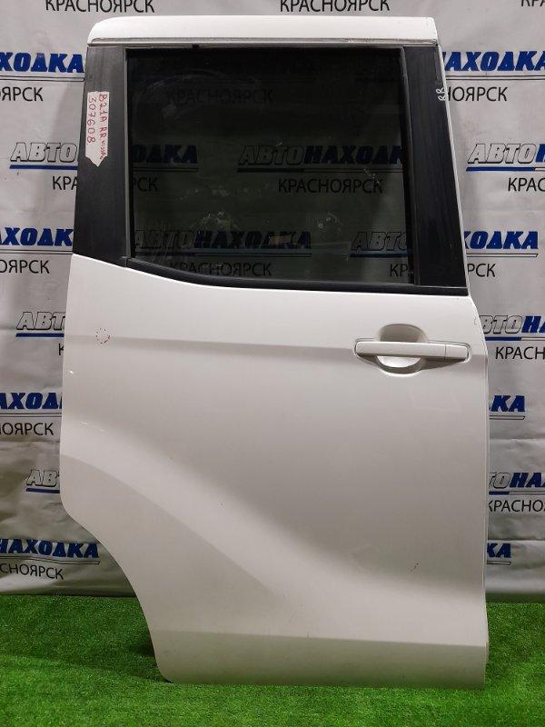 Дверь Nissan Dayz Roox B21A 3B20 2014 задняя правая Задняя правая в сборе, сдвижная, с шторкой. Есть