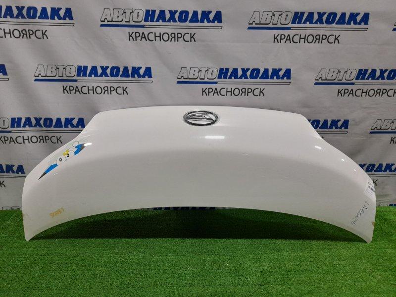 Капот Daihatsu Tanto LA600S KF 2013 пластиковый есть царапина