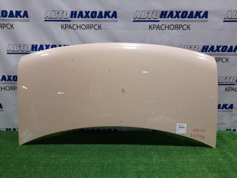 Капот Suzuki Alto Lapin HE22S K6A 2008 цвет-ZGF есть пару тычек