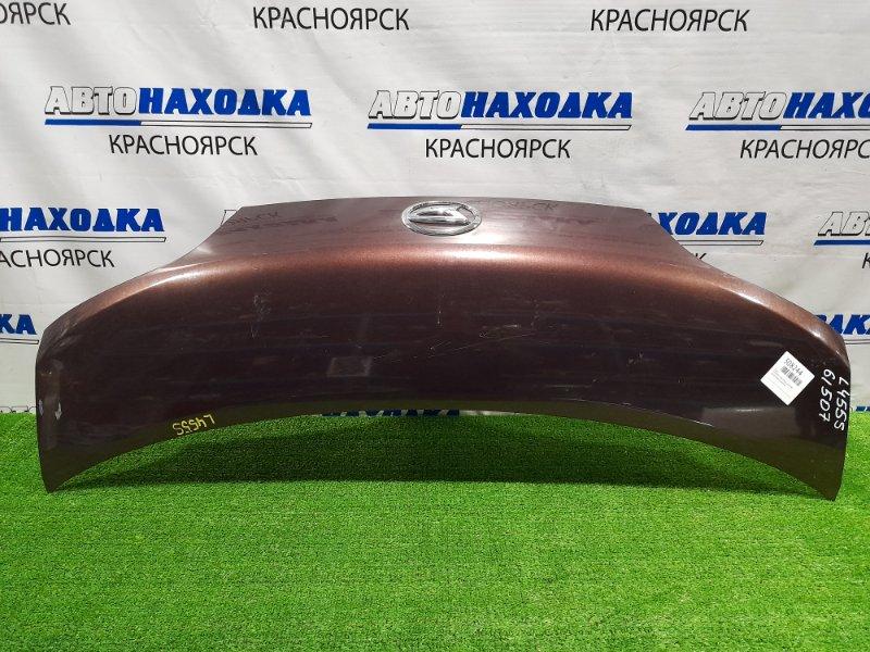 Капот Daihatsu Tanto Exe L455S KF 2009 присутствуют царапина