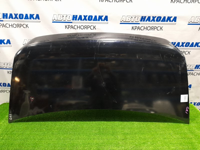 Капот Honda Mobilio Spike GK1 2005 передний 2-й рестайлинг присутствуют вмятинки, царапины