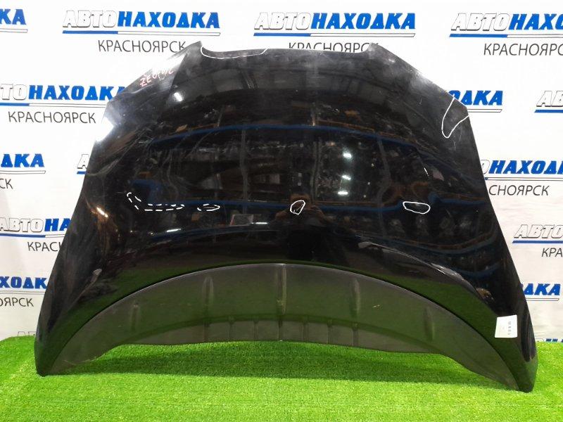 Капот Nissan Leaf ZE0 EM57 2009 присутствуют вмятины