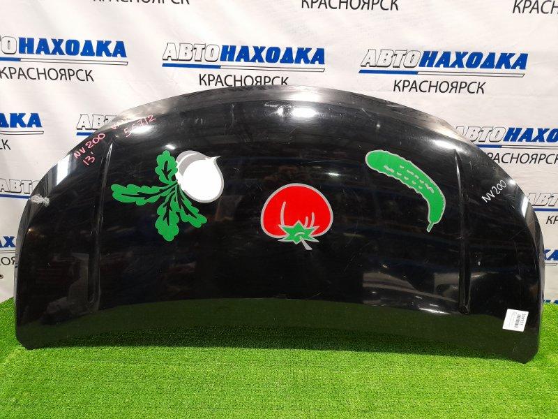 Капот Nissan Nv200 VM20 HR16DE 2009 есть вмятина по центру и потёртости