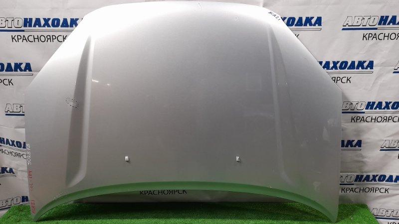 Капот Toyota Rav4 ACA21W 1AZ-FSE 2000 цвет 1D4, есть потертости, вмятины.
