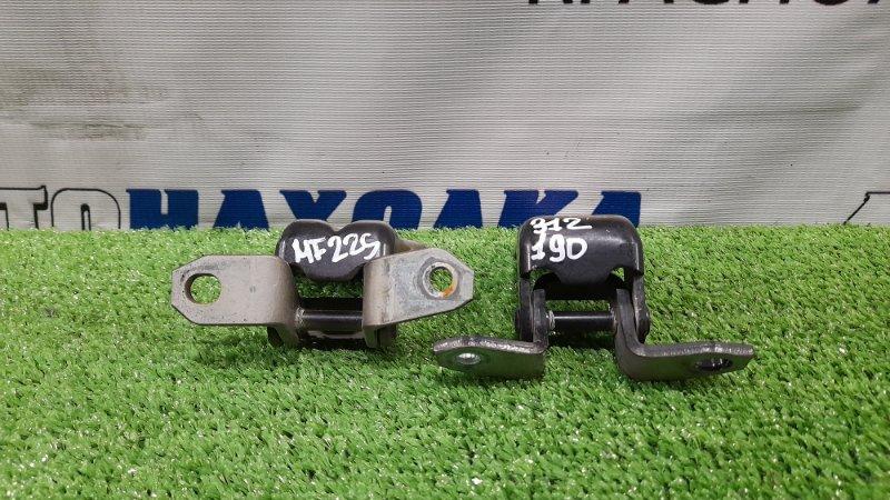 Кронштейны двери Suzuki Mr Wagon MF22S K6A 2006 передние левые передние левые, пара