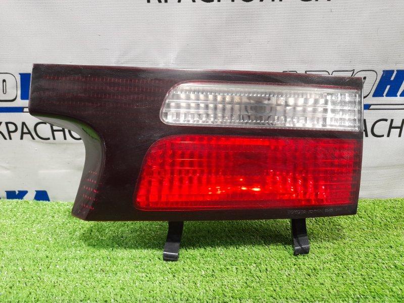 Фонарь задний Toyota Estima ACR30W 2AZ-FE 2000 задний правый 28-143 правый, в крышку, 28-143. Дорестайлинг.
