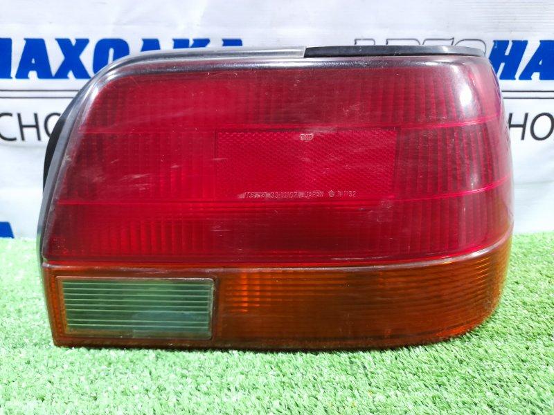 Фонарь задний Toyota Corolla AE110 5A-FE 1995 задний правый 12-413 правый, 12-413. Есть мелкие трещинки *