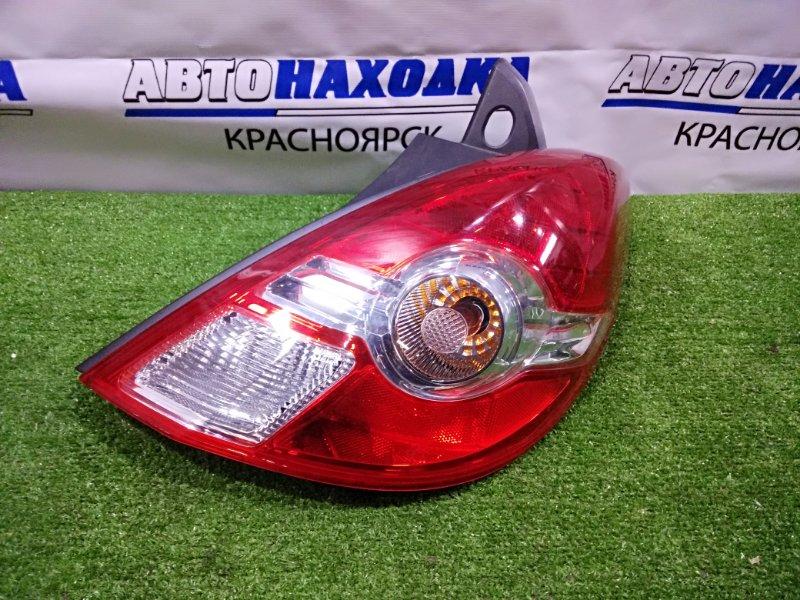 Фонарь задний Nissan Tiida C11 HR15DE 2008 правый P7511 Правый, рестайлинг, P7511 в ХТС.