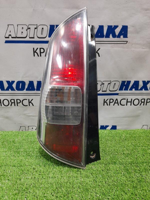 Фонарь задний Toyota Passo KGC10 1KR-FE 2004 задний левый 220-51762 Левый, дорестайлинг, 220-51762