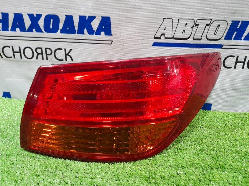 Фонарь задний Nissan Bluebird Sylphy KG11 MR20DE 2005 задний правый 22063823 Правый, 220-63823, в ХТС.