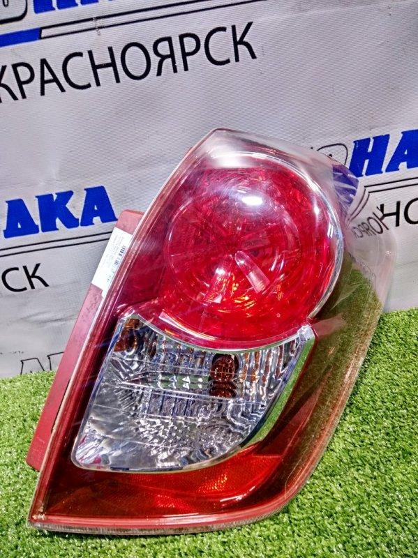 Фонарь задний Toyota Ractis NCP100 1NZ-FE 2007 задний правый 52-192 правый, 52-192, под полировку.