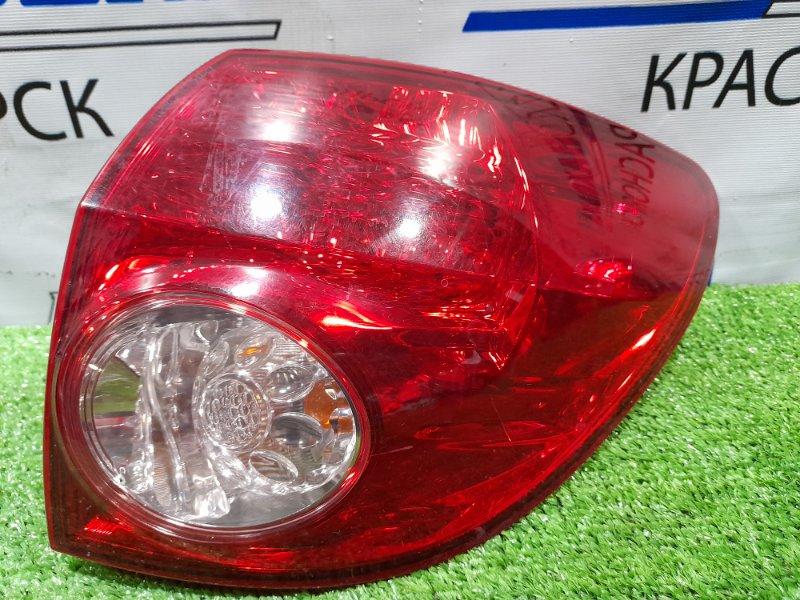 Фонарь задний Nissan Wingroad Y12 HR15DE 2005 правый 220-24857 Правый, 220-24857