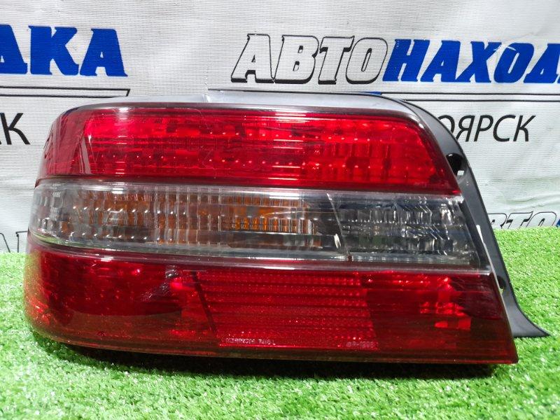 Фонарь задний Toyota Chaser JZX100 1JZ-GE 1996 задний левый 22-269 Левый 22-269 дорестайлинг