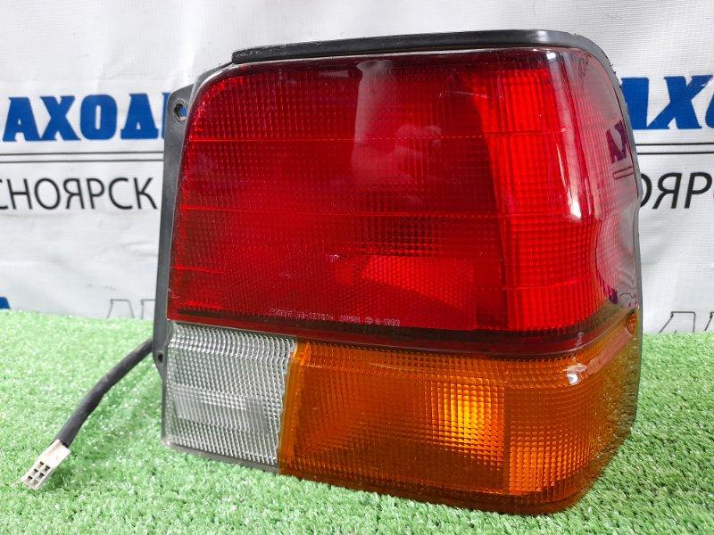 Фонарь задний Toyota Tercel EL51 4E-FE 1994 задний правый 16-117 16-117 правый, седан, дорестайлинг.