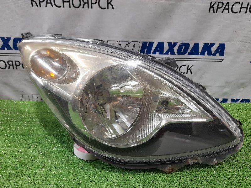 Фара Suzuki Cervo HG21S K6A 2006 правая Правая, галоген, корректор, темный фон, дефект крепления