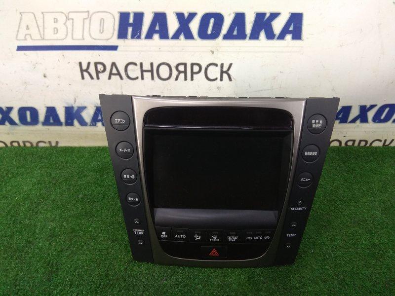 Климат-контроль Lexus Gs350 GRS191 2GR-FSE 2005 412300-0940 ХТС, климат -контроль с центральным